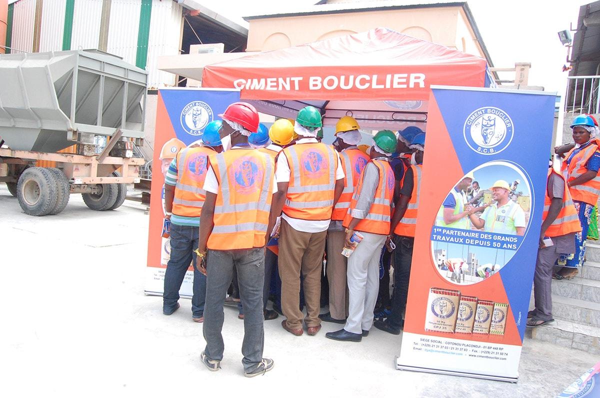 SCB Ciment Bouclier journee porte ouverte