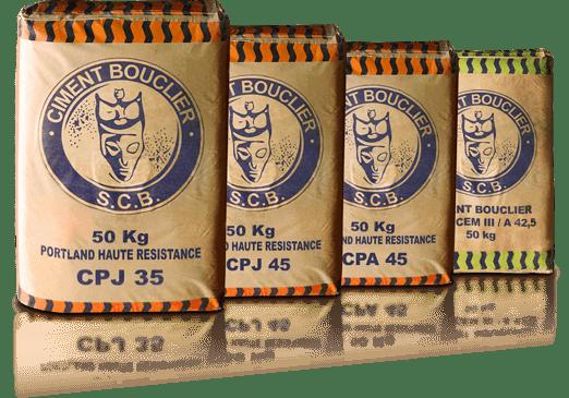 ciment bouclier sacs ciment
