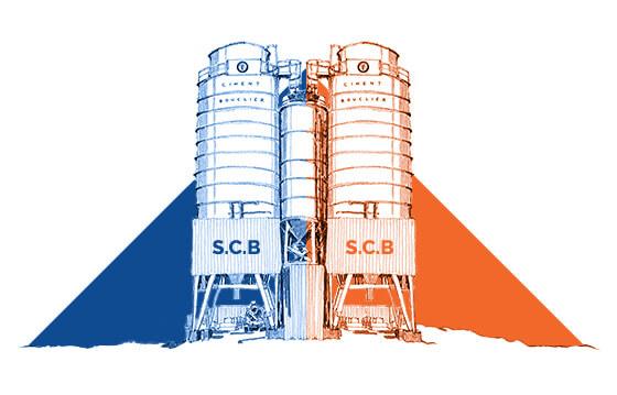 scb ciment bouclier usine